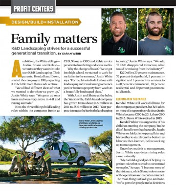 article, Landscape Management magazine, July 2018