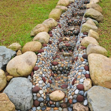 Improve Landscape Water Drainage