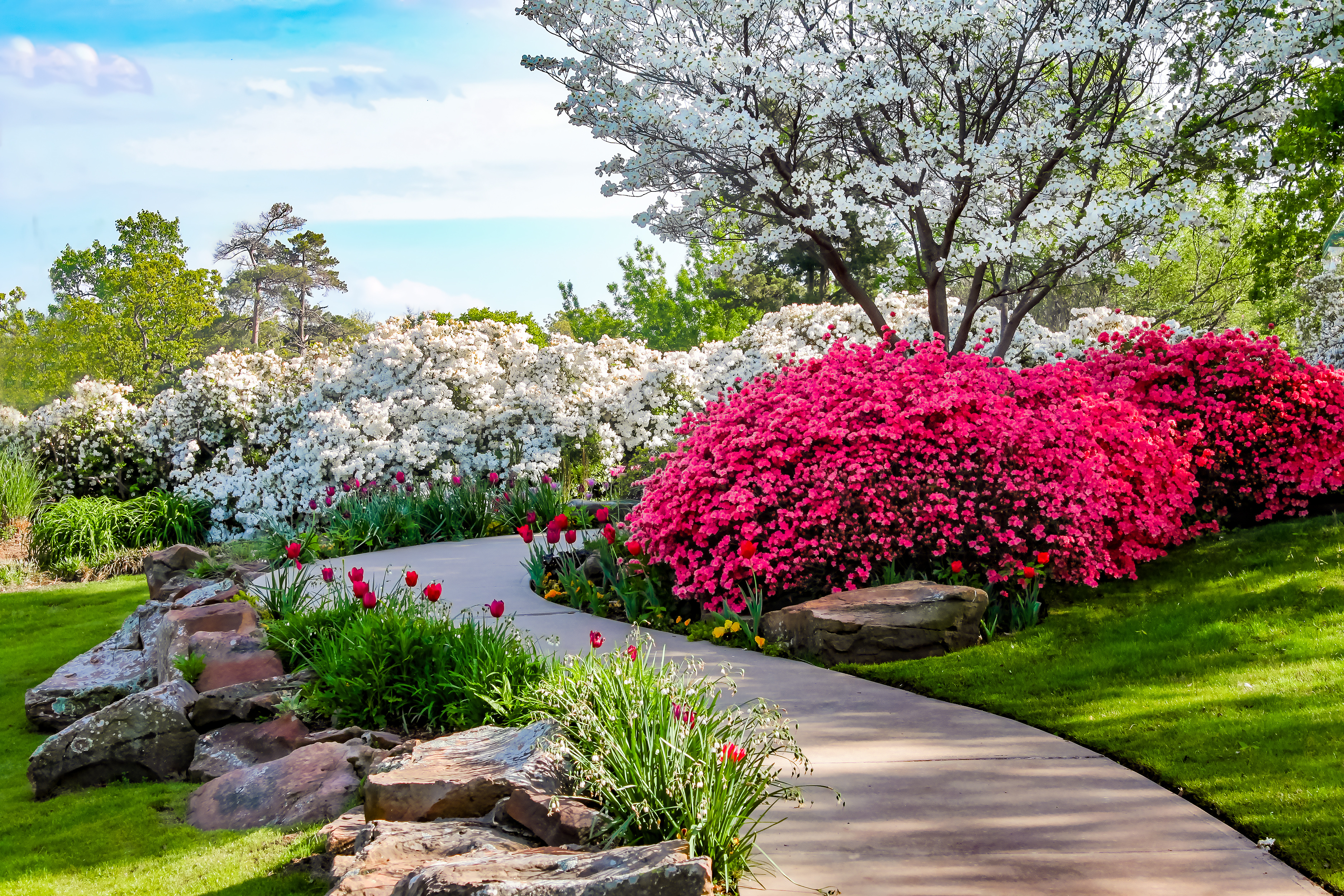 Walkways And Paths For Your Landscape Design K Amp D Landscaping