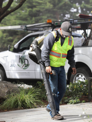 K&D Landscaping, landscaping maintenance worker