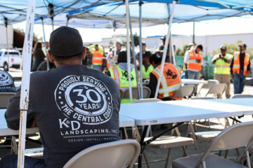 K&D employee, Proudly Serving the Central Coast 30 Years shirt