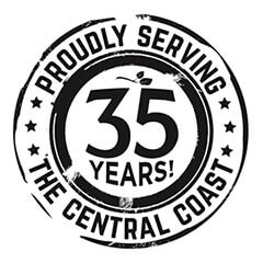 Proudly serving the Central Coast 30 years